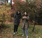 """강남♥이상화, 신혼 데이트…""""춥다! 겨울이 왔다"""""""