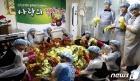 웅진코웨이'블루버드' 소아암 백혈병 어린이들을 위한 사랑의 김장나눔 캠페인