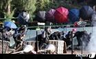 학교로 되돌아가는 홍콩 학생들