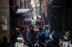 """""""자는 시간에…"""" 인도 뉴델리 공장 화재, 43명 사망"""