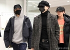 입국하는 방탄소년단