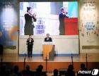 인권의 날 기념식 축사하는 유남석 헌재소장