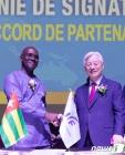 국제청소년연합, 토고 정부와 국가발전계획 공동협정 체결