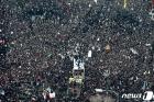 '美에 폭사' 이란군 실세 솔레이마니 추모 인파