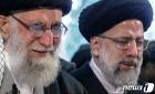 오열하는 이란 최고지도자 하메네이와 로하니 대통령