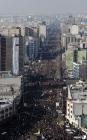 테헤란 거리 메운 솔레이마니 추모인파