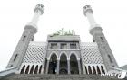 조용한 분위기의 이슬람사원