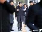 '불법촬영' 법원 출석하는 김성준 전 앵커