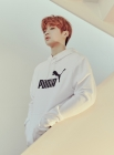 강다니엘, 화보 속 스포티한 패션…'댕댕미 폭발'