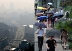 """[내일 날씨]포근한 날씨, 공기는 """"텁텁""""…전국 일부 지역엔 비"""