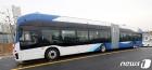 전국 최초, 23일 세종시에서 전기굴절버스 개통