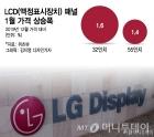 """""""LGD 올레드 올인 시간 벌었다""""…LCD패널 가격 반등"""