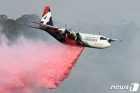 호주 산불 다시 '맹위'…소방항공기 추락해 美소방관들 사망