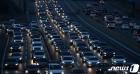 설 명절 '고속도로에 줄 지은 차량들'