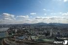 미세먼지 '좋음'...서울의 파란 하늘