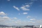 파란하늘 펼쳐진 서울