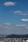 청명한 하늘 펼쳐진 서울