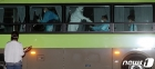 청도 대남병원 코로나19 확진자들, 국립정신건강센터 도착