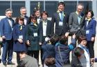 활짝 웃는 열린민주당 비례대표 후보들
