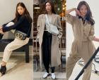 '사복여신' 기은세·차정원·강민경의 '베이지 룩' 코디법