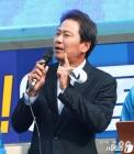 """임종석, 서울역 사전투표 후 KTX행 """"국민의 힘 믿는다"""""""