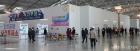 인천공항 사전투표소에 줄지은 유권자들