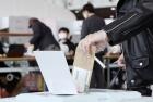 '코로나19'가 바꾼 비닐장갑 투표
