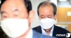가습기 살균제 사태 공판 출석하는  홍지호 전 SK케미칼 대표이사