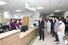 대구보훈병원 직원 격려하는 박삼득 보훈처장