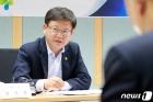임서정 고용부 차관 '산재 예방 위해'