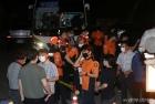 박원순 시장 수색, 분주한 경찰병력과 구급대원들