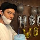 """""""하고픈 거 다해""""…김우빈, 건강한 모습으로 생일파티"""