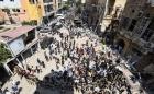 """베이루트 폭발 분노한 군중들, 마크롱에 """"해방시켜 달라"""""""