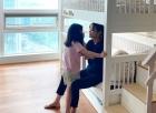 박시연, 딸과 함께 다정한 모습…고층빌딩 '뷰맛집' 눈길