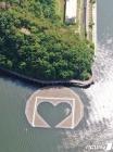의암호 선박사고 원인이 된 인공 수초섬