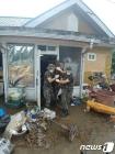 침수지역 대민지원 나선 군 장병들