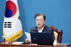 """[속보]文대통령 """"남북은 평화·경제·생명공동체...진정한 광복은 통일한반도"""""""