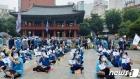 보신각 앞서 노동자대회 연 민주노총