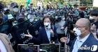 집회 대신 도심 곳곳 기자회견