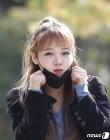 최유정 '마스크 살짝 내리니 예쁜 얼굴 뿅'
