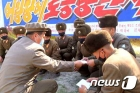 북한, 동부지구 수해복구 나선 군인에 위문 편지 전달