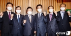 허태정 시장, 대전 찾은 박병석 의장에 국비지원 요청