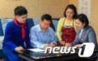 수해 복구장에 '위문 편지' 보내는 평양 주민들