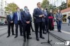 """마크롱, 니스테러에 """"이슬람 공격'…프랑스 가치 포기 않는다"""""""