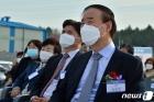 전영현 삼성SDI대표, 에코프로이엠 포항공장 착공식 축하