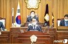 """김종식 목포시장 """"신재생에너지·관광에 총력""""…내년 예산 8566억 편성"""