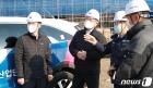 중소규모 건설현장 찾은 이재갑 고용장관