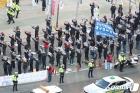 '민주노총 대구지역 총파업 총력 결의대회' 거리두기