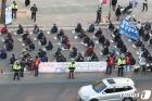 민주노총 대구도심 집회 '거리두기'