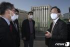 울산 현대차 연료전지 실증 연구동 둘러보는 성윤모 장관